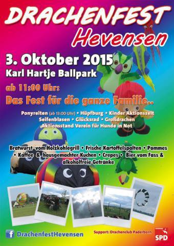 Drachenfest Hevensen 2015