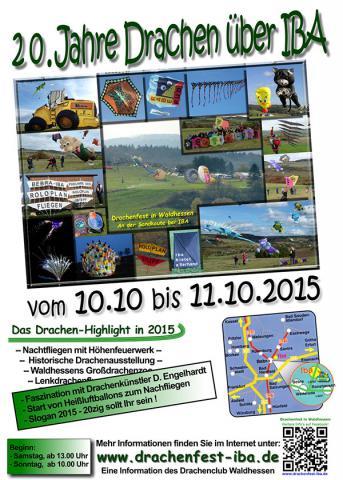Drachenfest IBA 2015