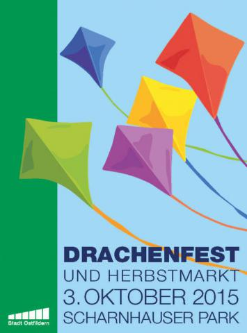 Drachenfest Scharnhauser Park