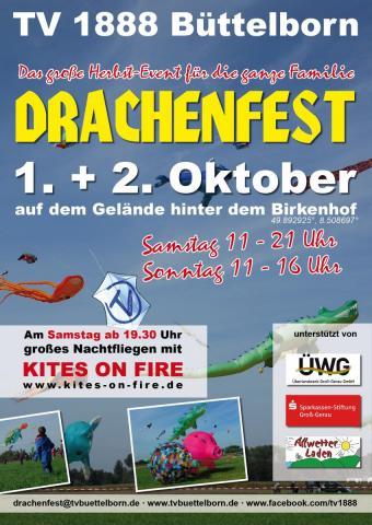 Drachenfest Büttelborn 2016
