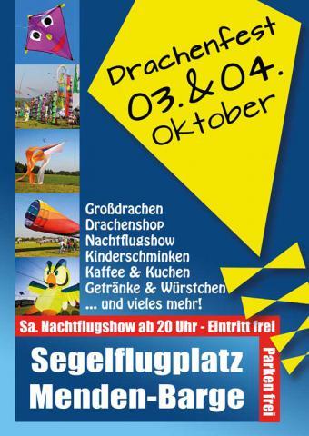 Plakat Drachenfest Menden 2015