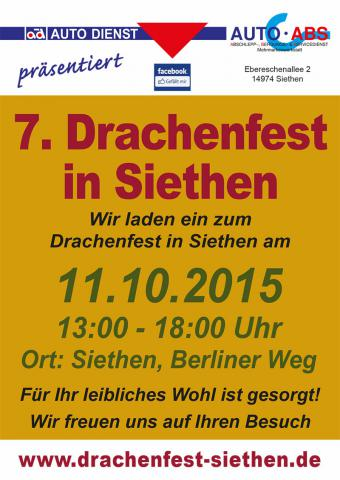 Drachenfest Siethen 2015