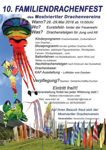 Mostviertler Drachenfest 2016