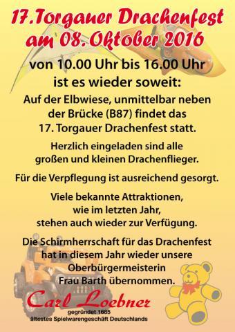 Drachenfest Torgau